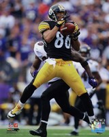 Hines Ward Football Reception Action Fine-Art Print