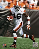 Josh Cribbs 2011 Action Fine-Art Print