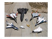 Collection of Military Aircraft Fine-Art Print