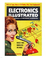 Electronics Illustrated March, 1961 Fine-Art Print