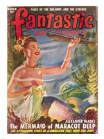 Fantastic Adventures 1949 March Cover Fine-Art Print