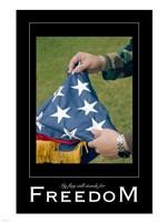 Freedom Affirmation Poster, USAF Fine-Art Print