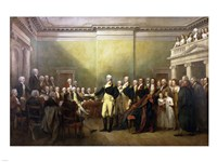 General George Washington Resigning His Commission Fine-Art Print