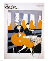 I Propose Dinner Puck Magazine Cover 1916 Dec 9 Fine-Art Print