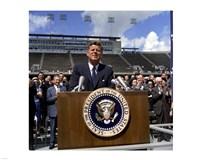 JFK at Rice University Fine-Art Print