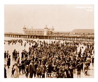 Crowd at Atlantic City 1910 Fine-Art Print