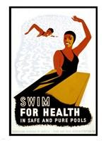 Swim for Health Fine-Art Print