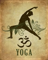 Yoga pose Fine-Art Print