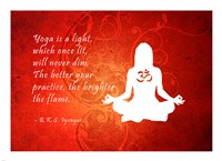 Yoga Quote Fine-Art Print