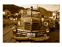 Isuzu Fire Engine Fine-Art Print
