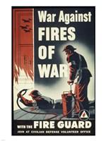 War Against Fires of War with the Fire Guard Fine-Art Print