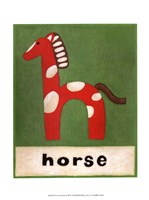 H is for Horse Fine-Art Print