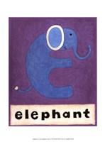 E is for Elephant Fine-Art Print