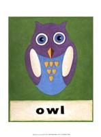 O is for Owl Fine-Art Print