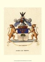 Stately Heraldry II Fine-Art Print