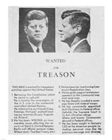 JFK Wanted Dallas, 1963 Fine-Art Print