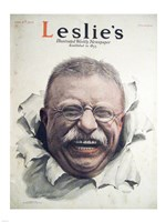 Leslies Illustrated Weekly Newspaper Nov. 1916 Teddy Roosevelt Fine-Art Print