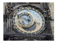 Prague - Astronomical Clock Detail Fine-Art Print