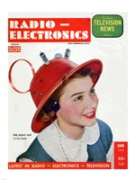 Radio Electronics Cover June 1949 Fine-Art Print
