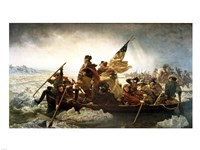 Washington Crossing the Delaware by Emanuel Leutze Fine-Art Print