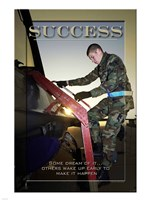 Success Affirmation Poster, USAF Fine-Art Print