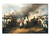 Surrender of Lord Cornwallis Fine-Art Print