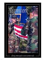 Teamwork Affirmation Poster Fine-Art Print