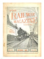 The Railway Magazine October 1901 Cover Fine-Art Print