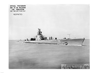 USS Whale Early US  Submarine Fine-Art Print