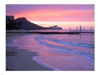 Waikiki Beach Sunset Fine-Art Print