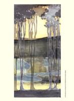 Small Nouveau Landscape II Fine-Art Print