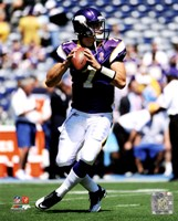 Christian Ponder 2011 Action Fine-Art Print