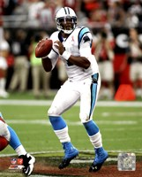 Cam Newton 2011 Action Fine-Art Print