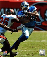 Calvin Johnson 2011 Action Fine-Art Print
