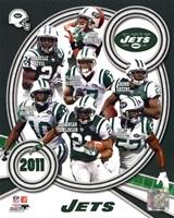New York Jets 2011 Team Composite Fine-Art Print