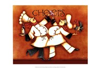 Chef's Cheers Fine-Art Print