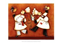 Chef's Good Life Fine-Art Print