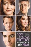 How I Met Your Mother - characters Wall Poster