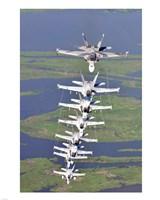 FA-18 Hornets Fine-Art Print
