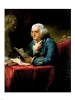 Benjamin Franklin 1767 Fine-Art Print