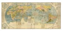 Japanese World Map Fine-Art Print