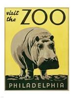 Visit the Zoo - Philadelphia Fine-Art Print