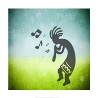 Kokopelli Music I Fine-Art Print