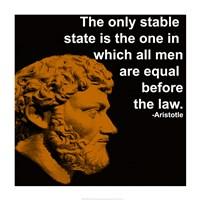 Aristotle Quote Fine-Art Print
