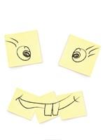 Post- It Smiley Face Fine-Art Print