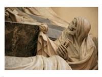 Death with Hourglass, Monument to Marshall Maurice of Saxony, Saint Thomas' Church, Strasbourg Fine-Art Print