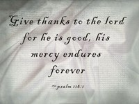 Give Thanks to the Lord Fine-Art Print