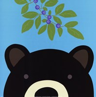 Peek-a-Boo Bear Fine-Art Print