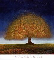 Dreaming Tree Blue Fine-Art Print