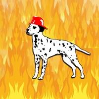 Firefighter Dog Fine-Art Print